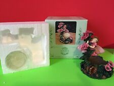 Fairy Blossoms Votive Candle Holder Nib Collectible Gift