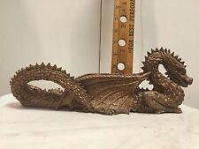 "Dragon shaped incense burner. 12"" long. Ceramic"