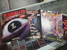 Strategy Guide Lot - Resident Evil 1, Resident Evil 2, Pandemonium & Diablo II