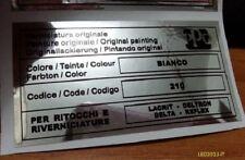 Lancia delta hf integrale 8 16v evoluzione adesivo ppg bianco 210 con difetto