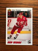 1991-92 Upper Deck #146 Steve Yzerman Hockey Card Detroit Red Wings NHL Raw