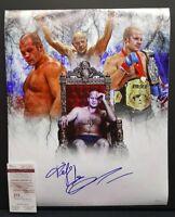 FEDOR EMELIANENKO Signed Autographed UFC, MMA, BELLATOR, STRIKEFORCE 16X20. JSA