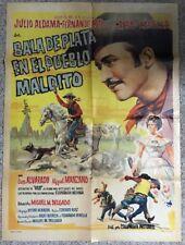 """""""Baya De Plata En El Pueblo Maldito"""" Movie Poster (36""""X28"""")"""
