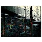 """Eyvind Earle """"Dawns First Light"""" Hand-Signed Limited Edition Serigraph COA"""