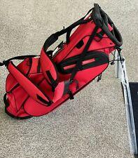 TaylorMade Golf Custom FlexTech Lite Stand Golf Bag Red/Black w/ Rain Hood 76524