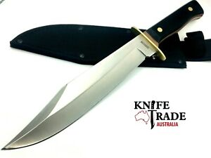 "Schrade Old Timer 14.5"" Bowie Knife +Sheath 1130045 10"" Blade Hunting Camp Knife"