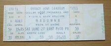 1987 MADONNA MIAMI CONCERT TICKET STUB WHO'S THAT GIRL TOUR LIKE A VIRGIN 18