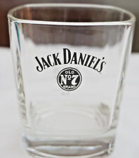 JACK DANIELS OLD NO.7 BRAND WHISKEY GLASS TUMBLER