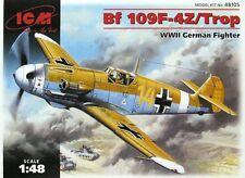 ICM 1/48 Messerschmitt Bf109 F-4Z/Trop # 48105