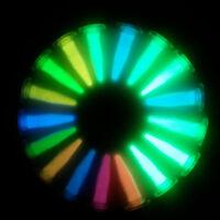 SET 17x Nachleuchtpigment für Epoxid Farbe bastel LEUCHTFARBE Nachtleuchtfarbe