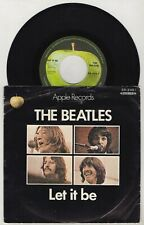 THE BEATLES Let it be / You Know My Name 1970 Japan Orig Single Apple AR-2461