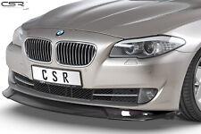 Cup Spoiler Front Ansatz Lippe Schwert für BMW 5er F10 / F11 Hochglanz 10-13