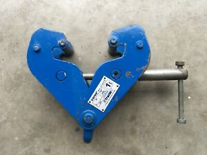 "Tractel Corso Beam Clamp 1 Ton 3 1/6"" - 9 1/4"" Beam Width Free Shipping"