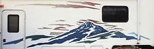 MONTANA Mountain Scene & RV Graphic Vinyl  Set For FRONT Side  2005