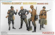 Dragon WWII 'Fragile Alliance' AXIS FORCES, BALKANS 1943, Figures 1/35 6563 ST