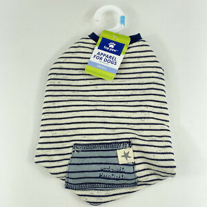 Top Paw Apparel Pajamas Clothes For Dogs Blue Striped PJ New Tags Size Small NWT