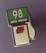 pin's -  pins total - pompe a essence super 98 premier / metal tres bon etat