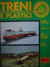 Treni e Plastici n°5 1979 locomotive italiane Scala N -Pisa Livorno- Ottimo!!