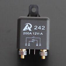 Heavy Duty 12V DC Relay 200A Automotive Switch