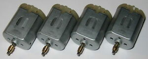 4X FC-280 Motors with Collar - Car Door Lock and Mirror Motors - FC-280PT-22125