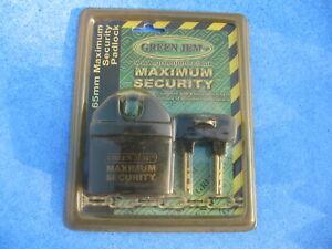 green gem maximum security lock 65 mm maximum security padlock