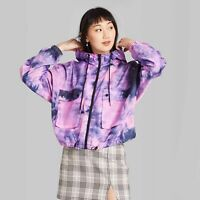 Women's Zip-Up Windbreaker Jacket - Wild Fable™ Violet