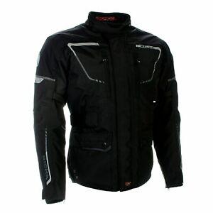 Richa Phantom 2 Waterproof Textile Breathable Motorcycle Bike Jacket - Black