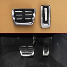 Brake Gas Pedal Cover Cap Kit Accessories For VW Golf7 Passat Tiguan Octavia A3
