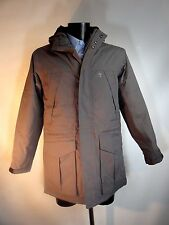 TIMBERLAND Grey / Taupe Waterproof PARKA Padded with Hood Size L BNWT