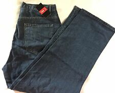 Vokal by Nelly Jeans Size 36 x 33 Patched Knees Loose Baggy Fit NWT