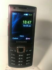 Samsung Lucido Ultra B GT-S7220 - Black & Platinum Red (Unlocked) Mobile Phone