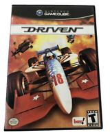 Driven (Nintendo GameCube, 2003) Original Release Racing Game Complete Excellent