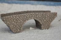 Spur N steinerne Bogenbrücke Lasergravierte professionell lackiert