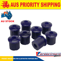 Suits Ford Falcon AU BA BF FG Ute SPEEDY PARTS Rear Shackle Bush Kit SPEEDYPARTS