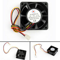 1x DC Brushless Ventilateur Refroidissement 12V 0.15A 6025B 60x60x25mm 3 Pin AF