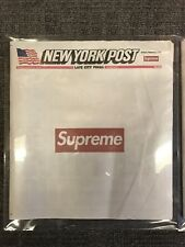 "Supreme x The New York Post Newspaper ""Late City Final Edition"" - RARE!!!!"