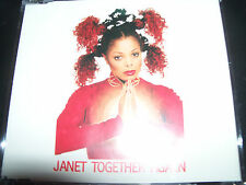 Janet Jackson Together Again Australian Remixes CD Single - Like New