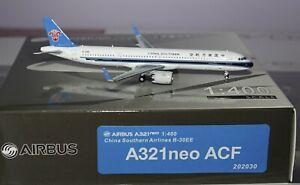 Panda 202030 Airbus A321-253NX ACF China Southern Airlines B-30EE 1:400 Damaged