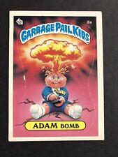 1985 Garbage Pail Kids Series 1 Adam Bomb 8A 1st  Series GPK OS1 Matte NM/MINT