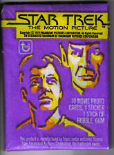 Star Trek the motion picture ,movie trading cards  pack