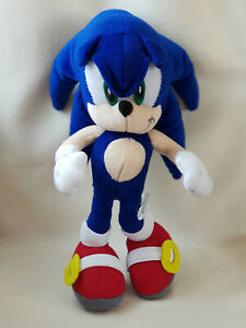"SEGA Toy Network Sonic The Hedgehog 15"" Rare Vintage Plush Toy"