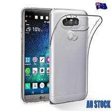 Ultra Thin Slim Soft Clear GEL Transparent Case Cover for LG V20