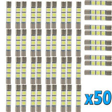 50 X 31MM 3-SMD 6641 Fuse Car LED SUN Visor Vanity Mirror Light Bulbs 6641 Sale