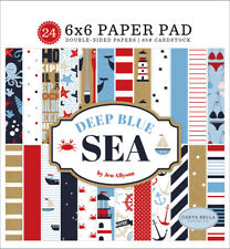 Carta Bella - Deep Blue Sea 6x6 Paper Pad 24 Double-sided Sheets Nautical