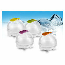 Round 4 Pcs/ Set Ice Ball Ice Cube Tray Chocolate Mold Maker Bar Party Drink DIY