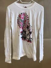 Harley Davidson Damen Shirt Langarmshirt Gr. M Weiß Neu und ungetragen