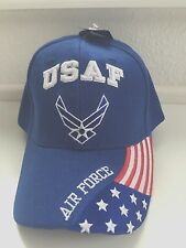 US  AIR FORCE BOLD CAP WITH US FLAG