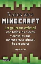 Trucos para Minecraft by Megan Miller (2015, Paperback)