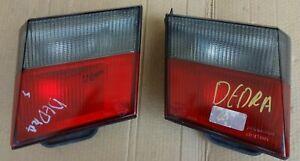 LANCIA DEDRA SDN MOD 1989 94 INNER REAR TAIL LIGHTS PAIR L R 82432721, 82432722