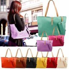 Fashion Lady Ladies Women PU Leather Messenger Hobo Classic Handbag Shoulder Bag